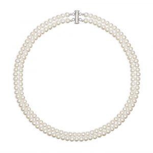 двойное ожерелье 5 мм